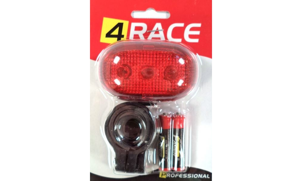 Blikačka 4 race zadní 5xLED