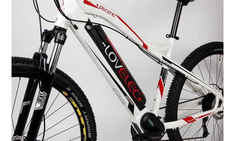"Horský elektrobicykel LOVELEC Ascend (rám 17"")"