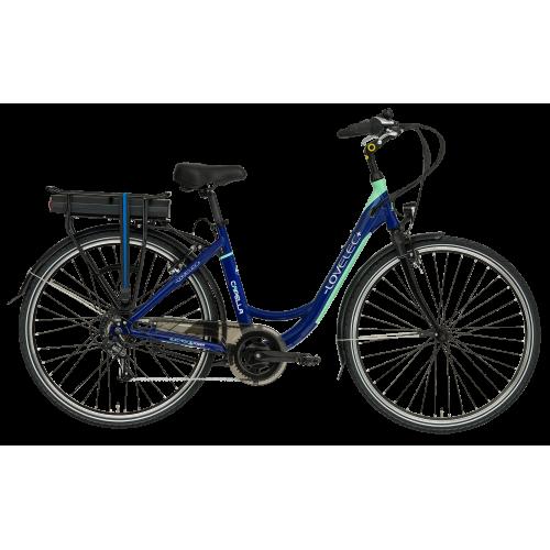Mestský elektrobicykel LOVELEC Capella Blue/Mint