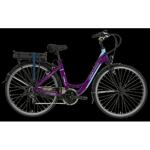 Mestský elektrobicykel LOVELEC Capella Violet/Blue
