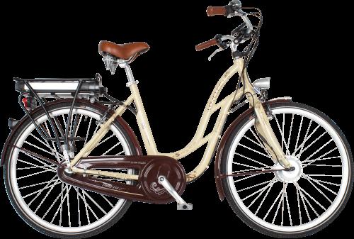 Elektrický bicykel LOVELEC Flanders Cappuccino
