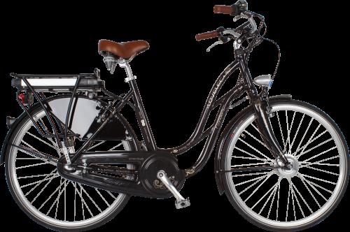 Elektrický bicykel LOVELEC Flanders Classic Black