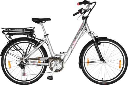 Elektrický bicykel LOVELEC Castor