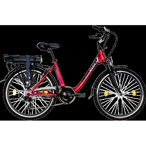 Mestský elektrobicykel LOVELEC Norma Red