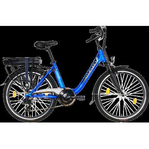 Mestský elektrobicykel LOVELEC Norma Blue