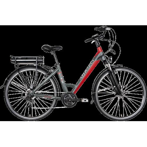 Mestský elektrobicykel LOVELEC Maia Black/Red